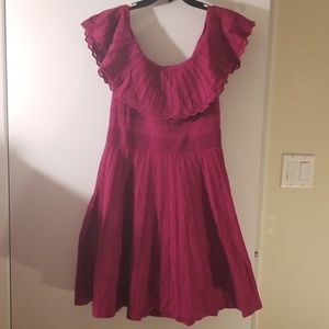NWT Ted Baker Off Shoulder Dress